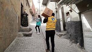 Başkan Kuş Ramazanda Fakir Ailelere Sahip Çıkmaya Devam Etti