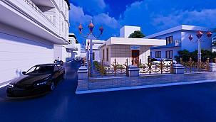 Eyyübiye Belediyesi 'Muhtar Evi 'Yapım Çalışmalarını Sürdürüyor.