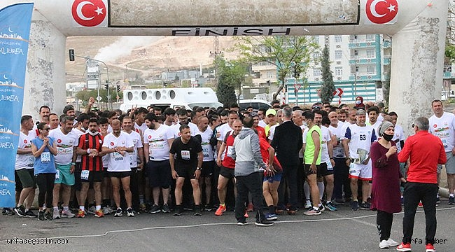 Urfa'da 450 Sporcu yarıştı