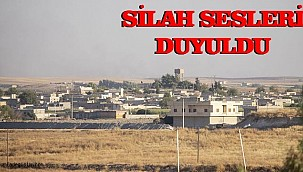 Urfa'nın ilçesinin karşısında çatışma sesleri!
