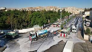 Eyyübiye'de Cadde Ve Sokaklar Pırıl Pırıl