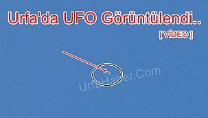 Urfa'da UFO Görüntülendi