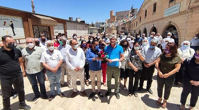 HDP Binasına Yapılan Saldırıya Urfa'dan Tepki!