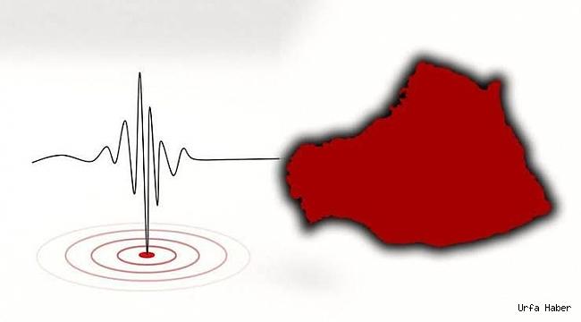 Urfa'da deprem paniği yaşandı