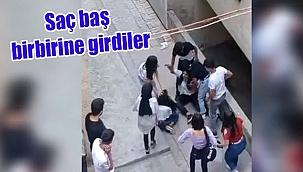 Urfa'da Kızlar Kavga Etti Erkekler İzledi!