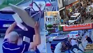 Baba ve Oğlu Sokak Ortasında Bıçaklandı