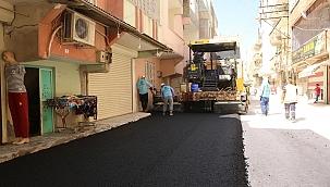 Haliliye Belediyesinden Devteyşti'nde Asfalt Çalışması