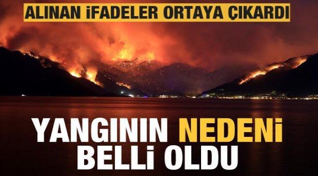 Son dakika: Marmaris'teki yangının nedeni belli oldu!