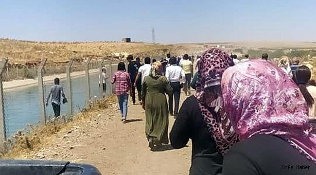 Urfa'da genç kız fotoğraf çekerken sulama kanalına düştü!