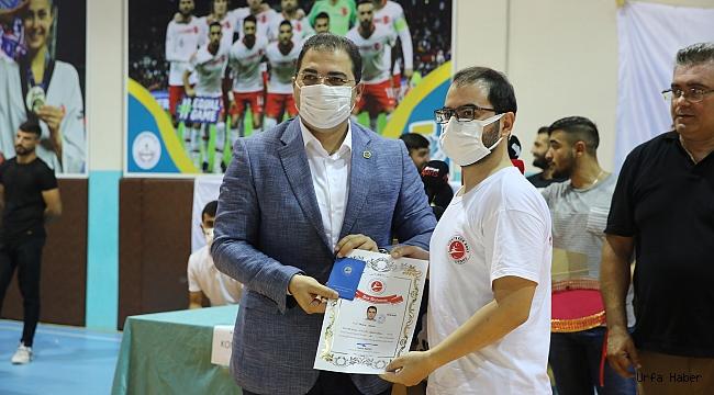 Haliliye Belediyesi, 275 Sporcunun Terfi Sınavına Ev Sahipliği Yaptı