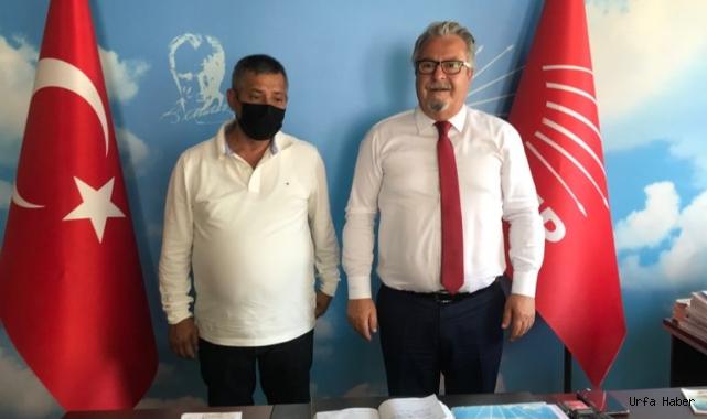 CHP Eskişehir İl Başkanı Taş Necdet Kardeniz'e konuştu