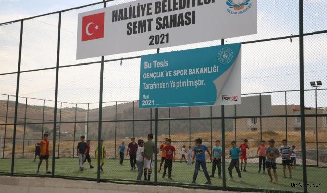 Haliliye Belediyesi Semt Sahaları, Gençlerin Yeni Spor Adresi