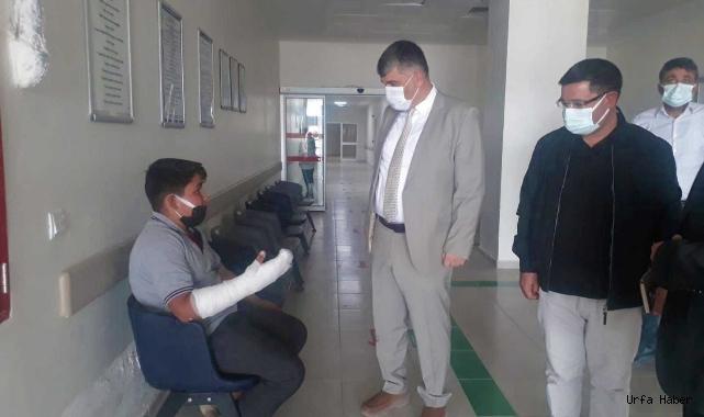Müdür Gülüm Bozova'da incelemelerde bulundu