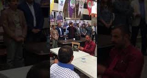 HDP'ye Birecik ve Halfeti'de yoğun ilgi