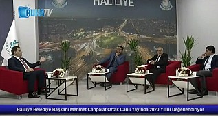 Haliliye Belediye Başkanı Mehmet Canpolat